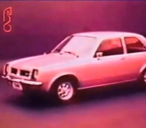 Propaganda antiga do Chevette (Chevrolet) nos ano 70: campanha focada no baixo custo de venda do automóvel.