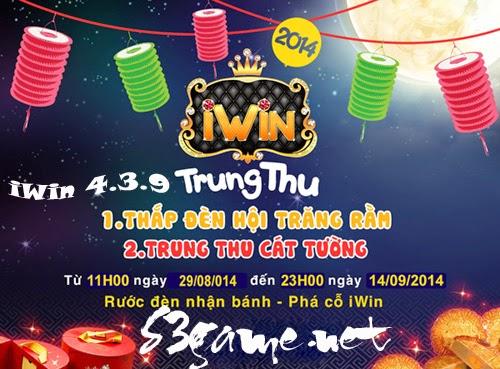 Tải iWin 439 - iWin 4.3.9 Android - Trung Thu Cát Tường