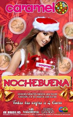 Discoteca Caramelo en Nochebuena