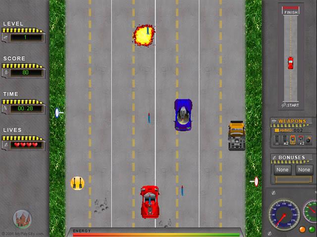 ����� ����� ����� ��������� (���� ����) road-attack_640x480_