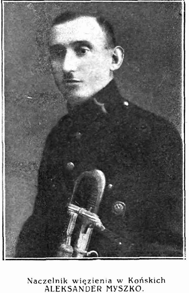 Fotografia zamieszczona w: Księdze jubileuszowej więziennictwa polskiego 1918-1928.