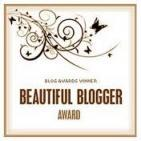 Freckles the Dog Beautiful Blogger Award