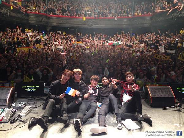 [LIVE REPORT] FTISLAND FTHX Live à la Maroquinerie (Paris)
