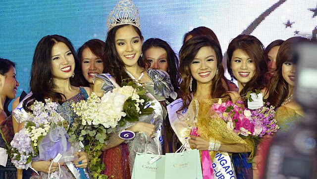 Miss Universe Singapore 2013 winner Shi Lim