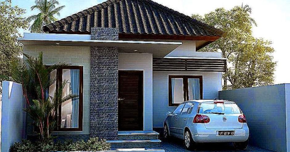Gambar Rumah Minimalis Modern 1 Lantai Design Rumah Minimalis