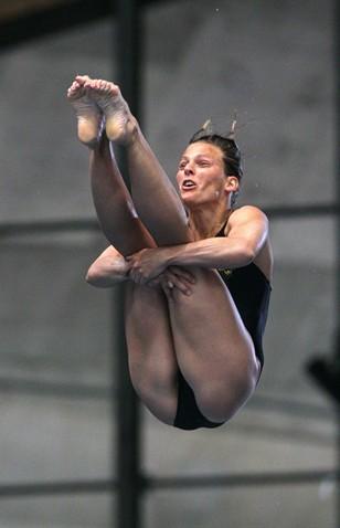 Olympic diver Anna Lindberg of Sweden