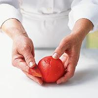 como descascar tomates rápido