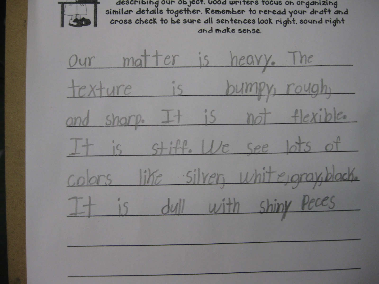 descriptive writing third grade Help your child write a descriptive essay in every grade and learn tips on how to write a descriptive essay.