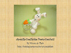 Pap Coelhinho porta confetti