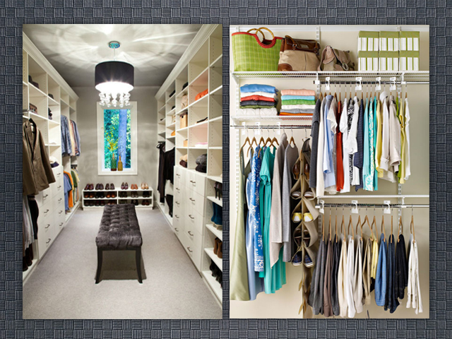 La yaya costurera tipos de armarios para organizar la - Vestir un armario ...