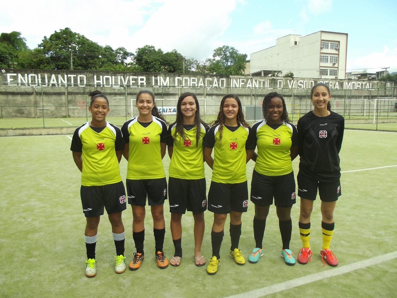 Club de Regatas Vasco da Gama - Futebol Feminino fechou o fim de ... 22f14e6d58fc8