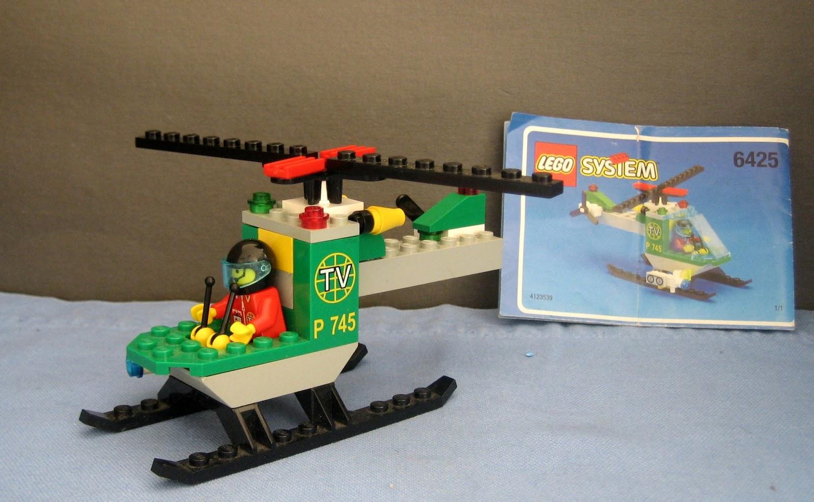 alles lego muss raus 6425 tv helikopter. Black Bedroom Furniture Sets. Home Design Ideas