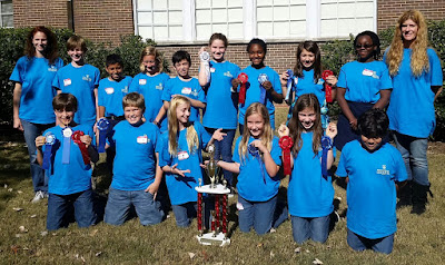 Montgomery Catholic Places Second at West Alabama Science Olympiad Competition 1