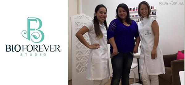 Ganhadora do Sorteio Blog Fabilila e BioForever Studio