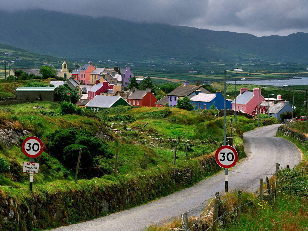 all about the famous places ireland landscape wallpapers