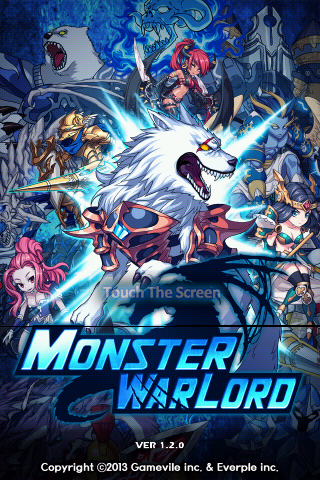 new look for Monster Warlord