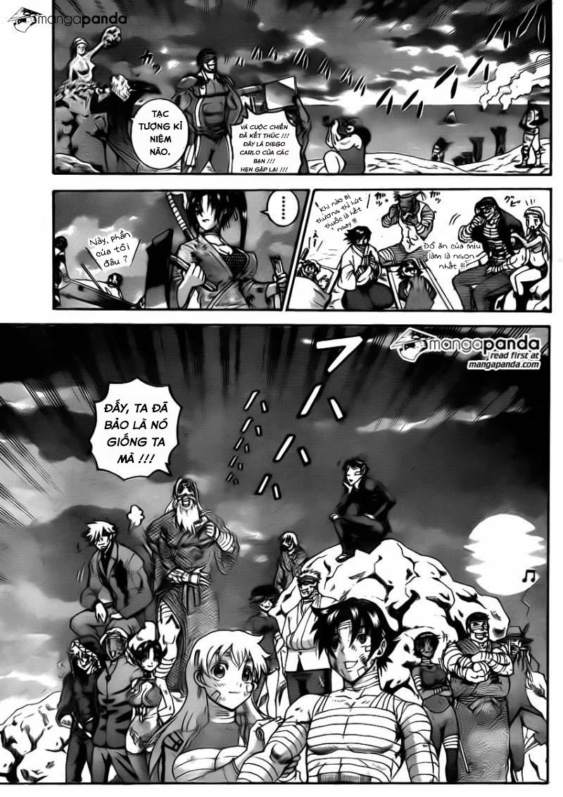 Historys Strongest Disciple Kenichi chap 582 - Trang 22