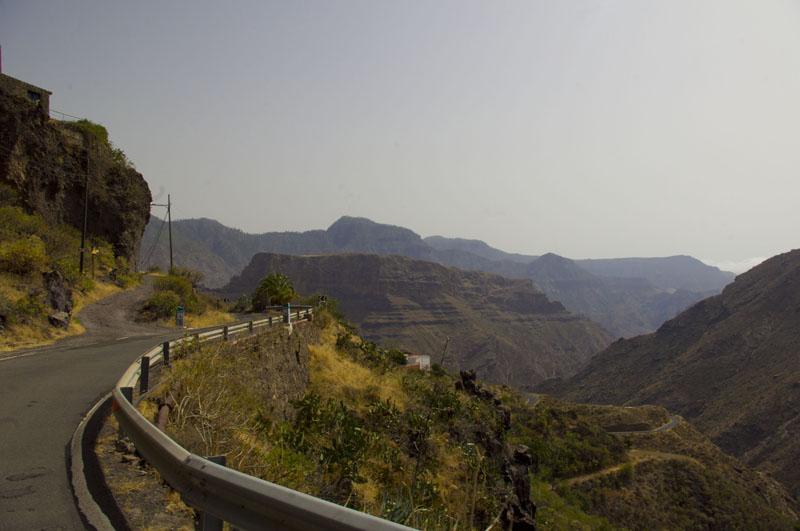 góry,Gran Canaria, widok, turystyka