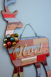 reclaimed lumber craft, DIY, reindeer, reindeer craft, christmas decor, by Aaron Christensen