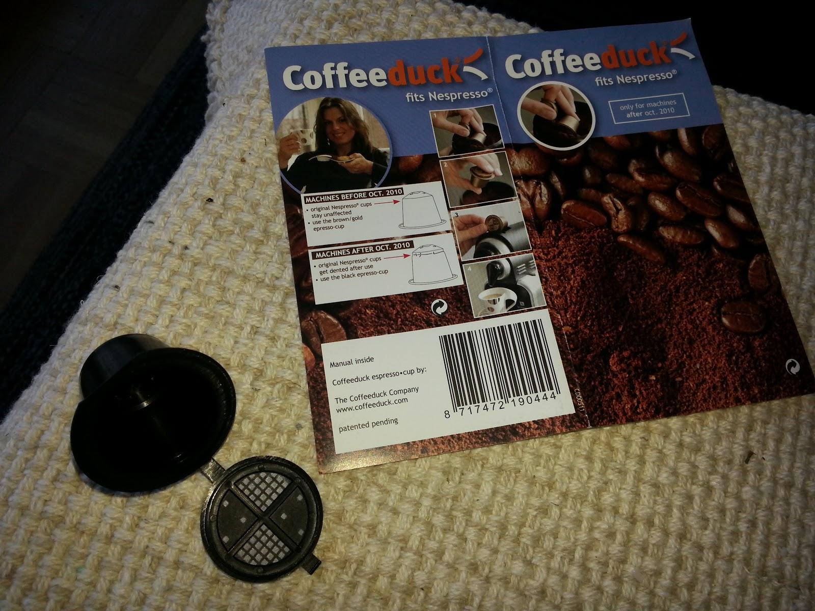 nespresso kaffe holder
