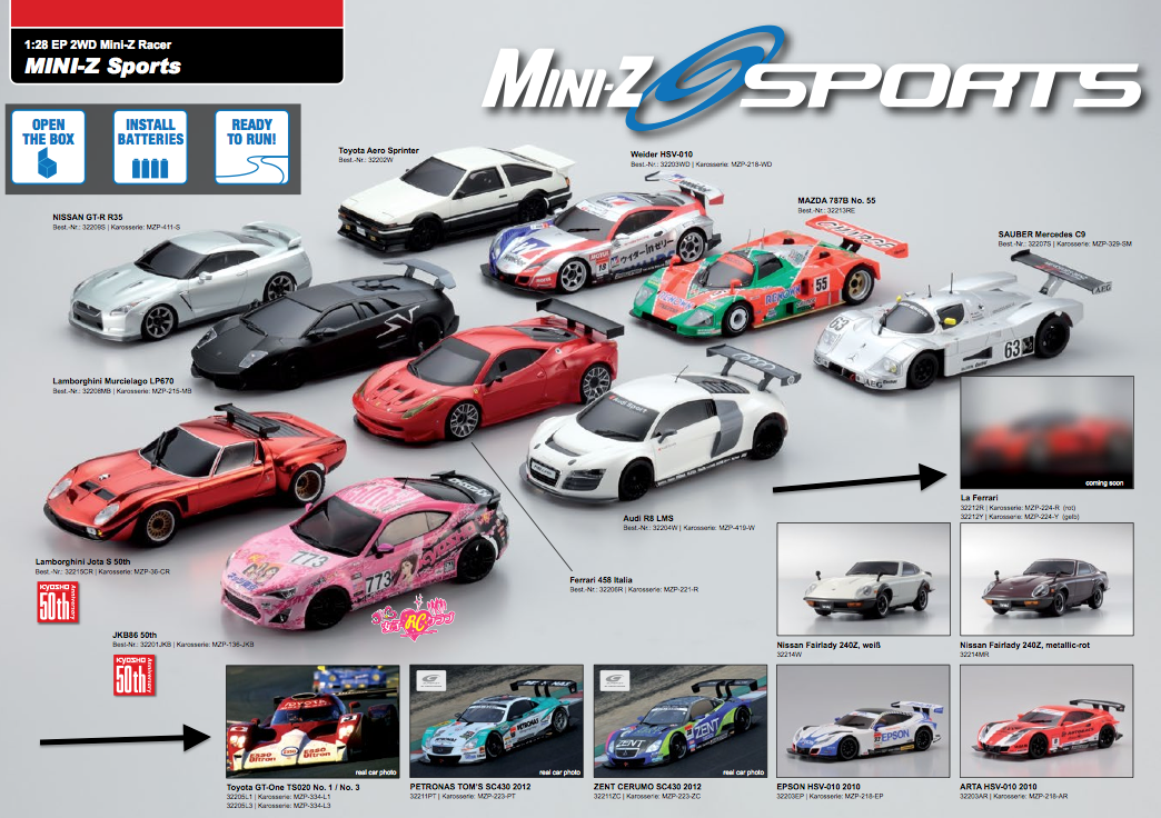 Chassis AMZ 4wd by Atomic !!! - Page 19 Mini-Z+Sports