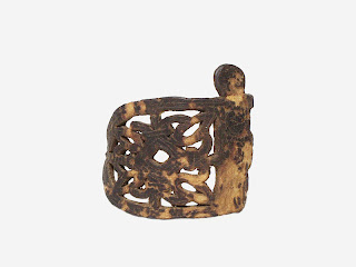 Leather armlet