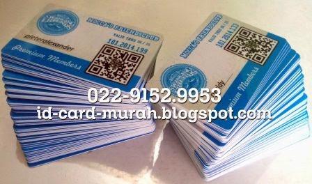ID-card Mocca's Swinging Friends premium members dengan qrcode barcode idcard murah bandung