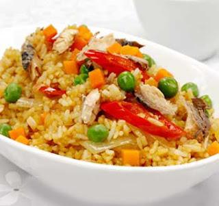 resep nasi goreng sarden