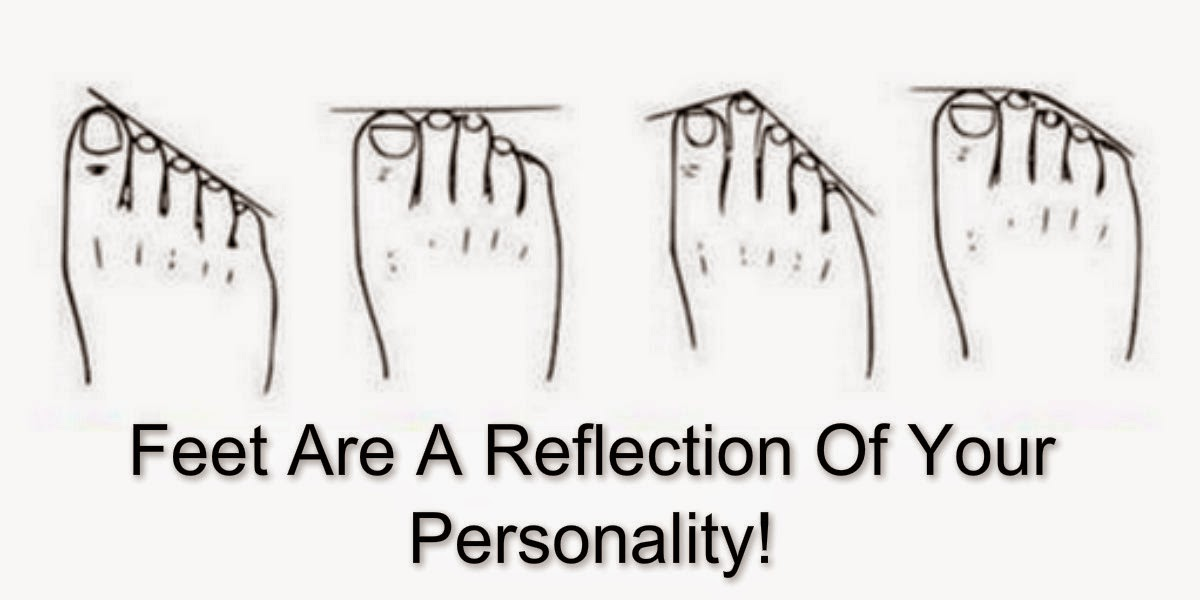 What Does Your Foot Shape Says About You
