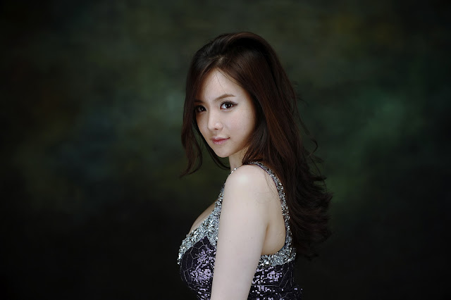 4 Im Ji Hye - Gorgeous Purple-very cute asian girl-girlcute4u.blogspot.com