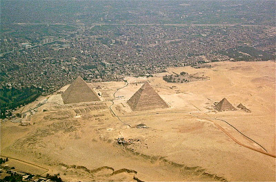 Lost city of pyramid builders suffered flash floods