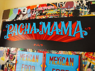 pancha mama mexican restaurant sign hand painted traditional lettering advertising vintage tasmania australia