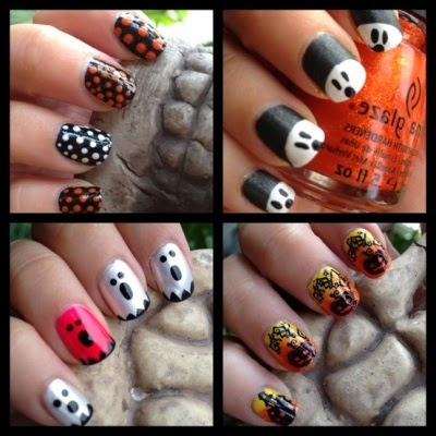 Nail Art Ideas For Halloween