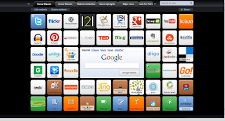 An example of a Symbaloo account