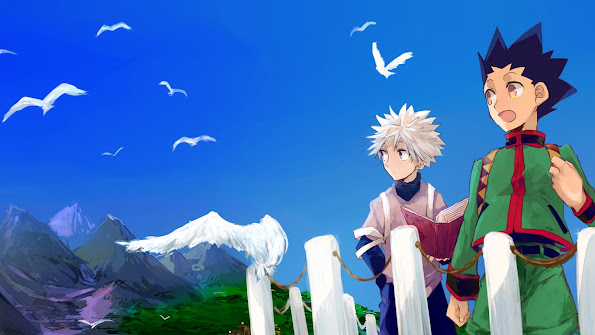 Gon and Killua Anime Image 6i