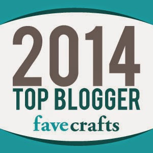 One of 2014's Top Bloggers on FaveCrafts