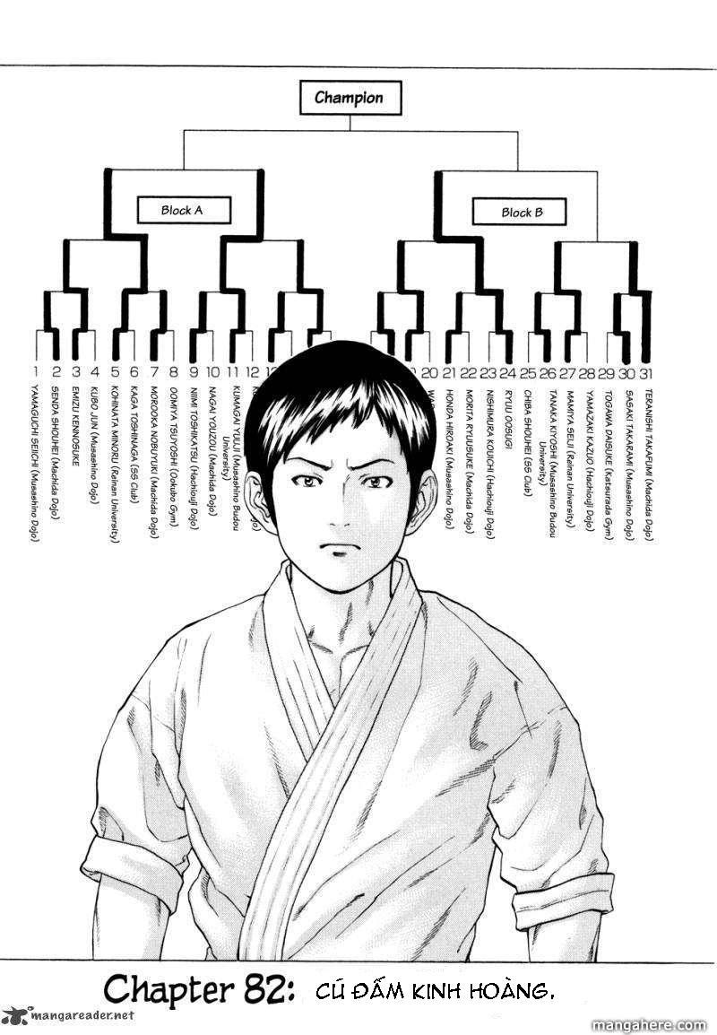 Karate Shoukoushi Kohinata Minoru chap 82 Trang 3