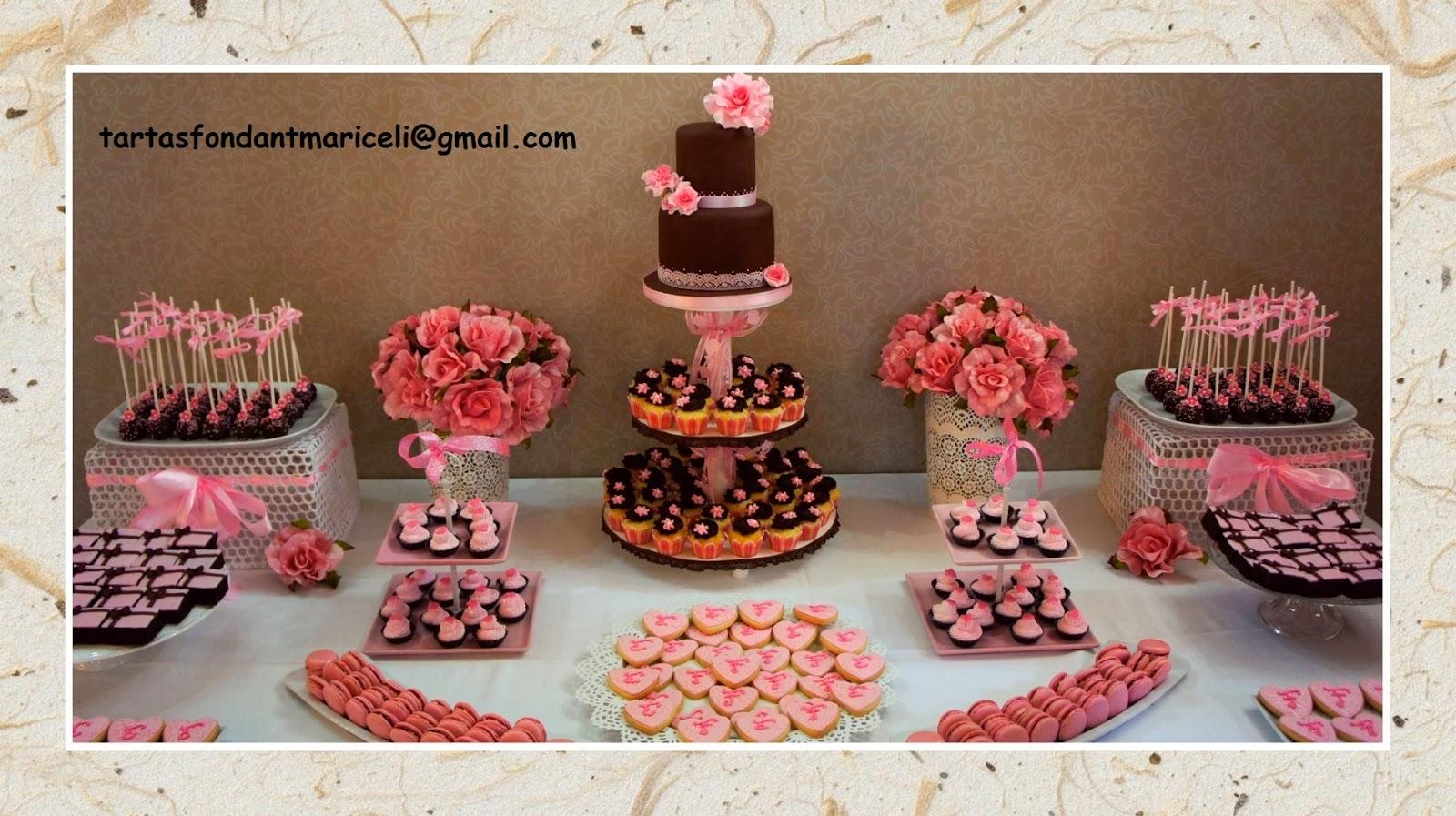 Tartas fondant mariceli mesa dulce para boda for Mesas de dulces para bodas precios