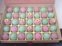 Popcake - warna tema pink hijau
