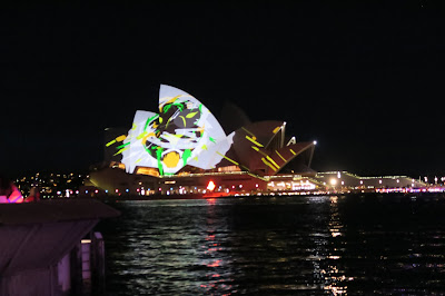 Sydney Vivid Lights Opera House 2015