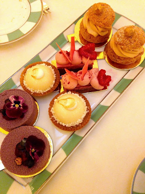 claridge's afternoon tea cakes