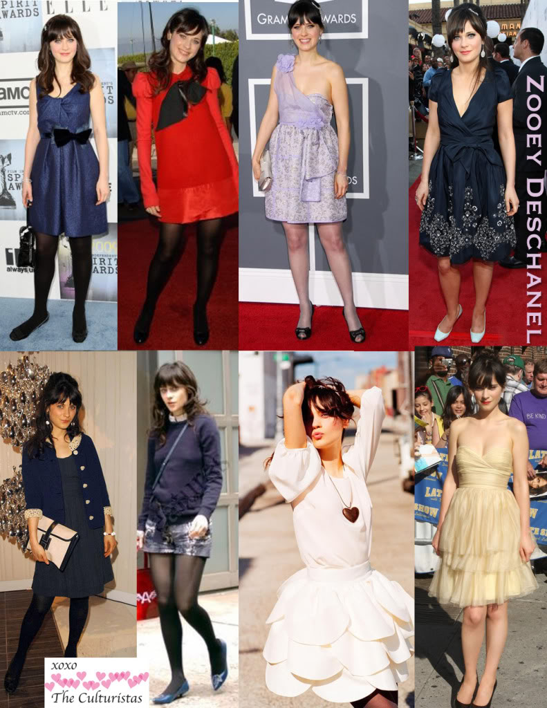 Zooey Deschanel Fashion Zooey Deschanel Outfit...