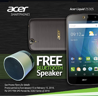 Acer Liquid Z630S Now In The Philippines, 64-bit Octa Core 3GB RAM for Php8,990
