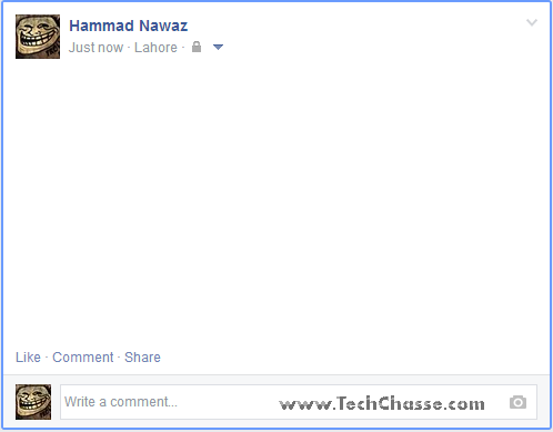 how to send messages from comments on facebook