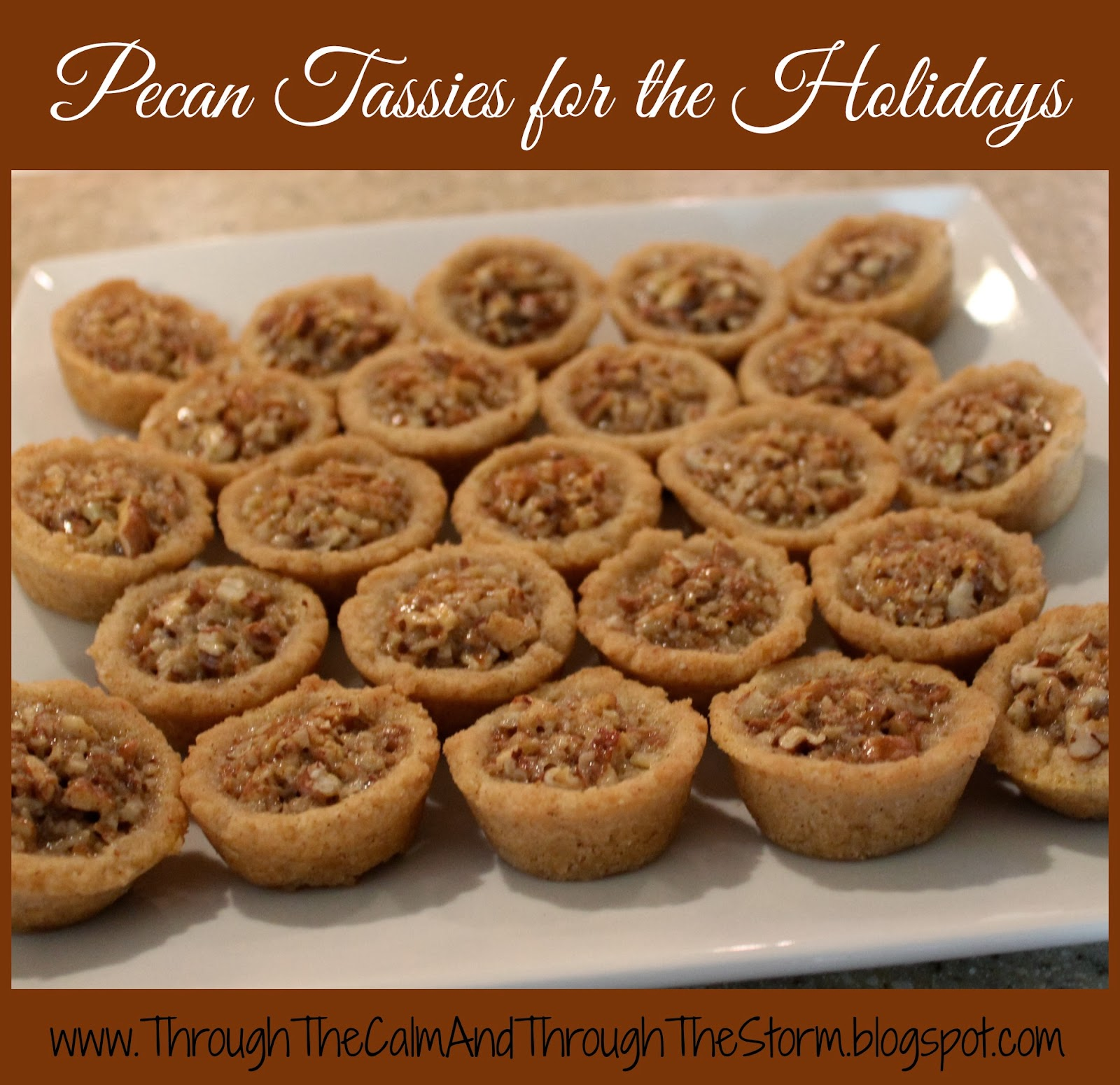 Pecan Tassies for the Holidays {recipe}