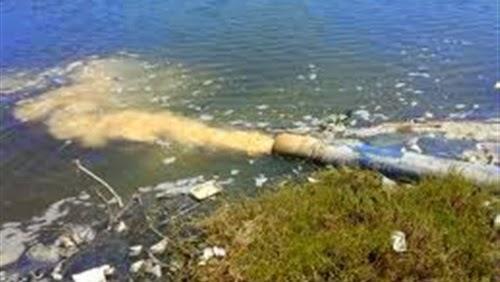 تلوث الماء بالصرف