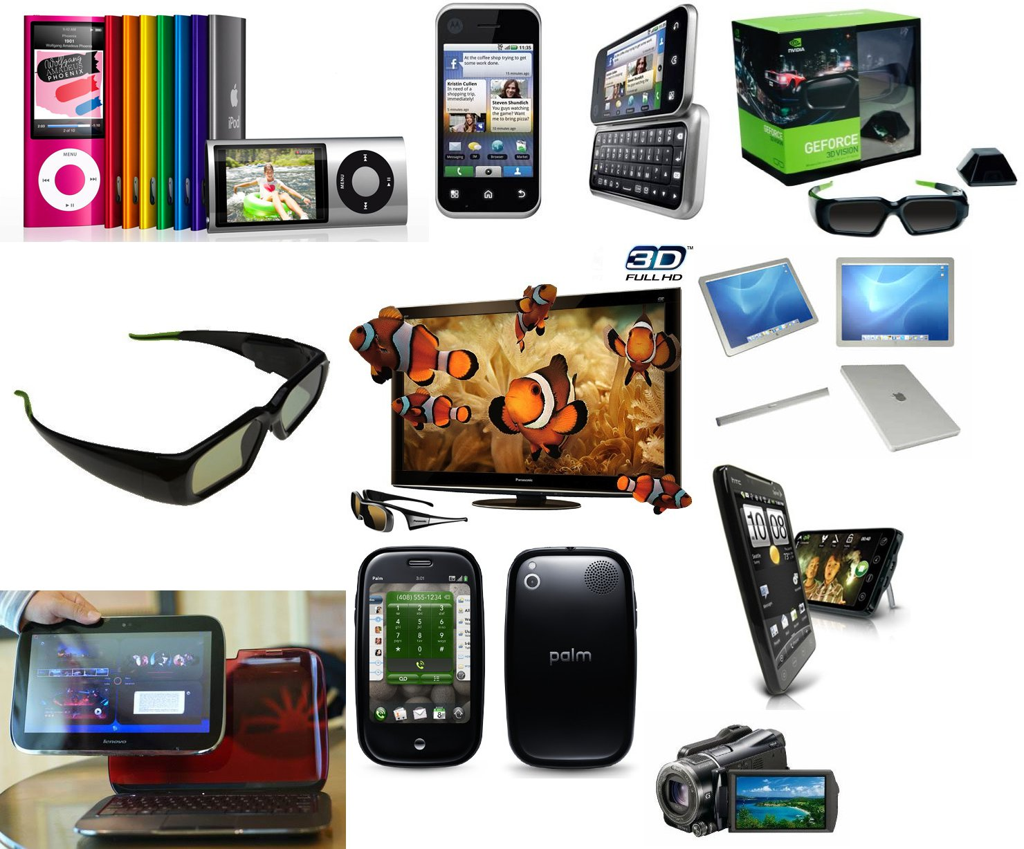 Top lifestyle gadgets of 2010 Cool tech gadgets for christmas