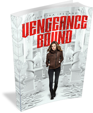 Book Cover: Vengeance Bound by Justina Ireland