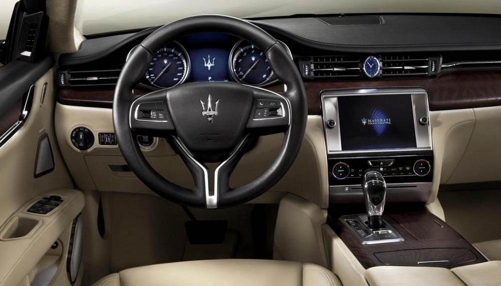 2017 Maserati Quattroporte Receives Face-Lift, New Trim Levels ...