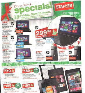Black Friday 2012: Staples Ad Preview